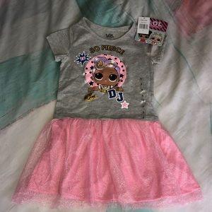 NEW LOL Surprise So Fierce Dress Girl size 5